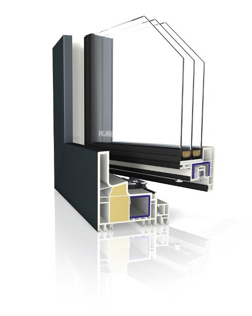 kunststofffenster slender kubus thermopower af fenster. Black Bedroom Furniture Sets. Home Design Ideas