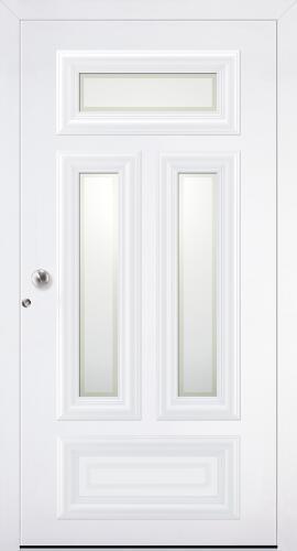 Aluminiumhaustüren Classic von Höning - Türen mit Aufsatzfüllung - AT70 E - AL85 SL - AT90 Vision